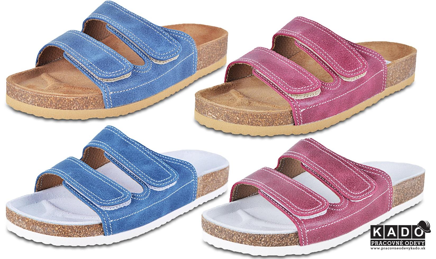 f9d9398d764c Detská školská obuv-ortopedické šľapky 055 BAREA