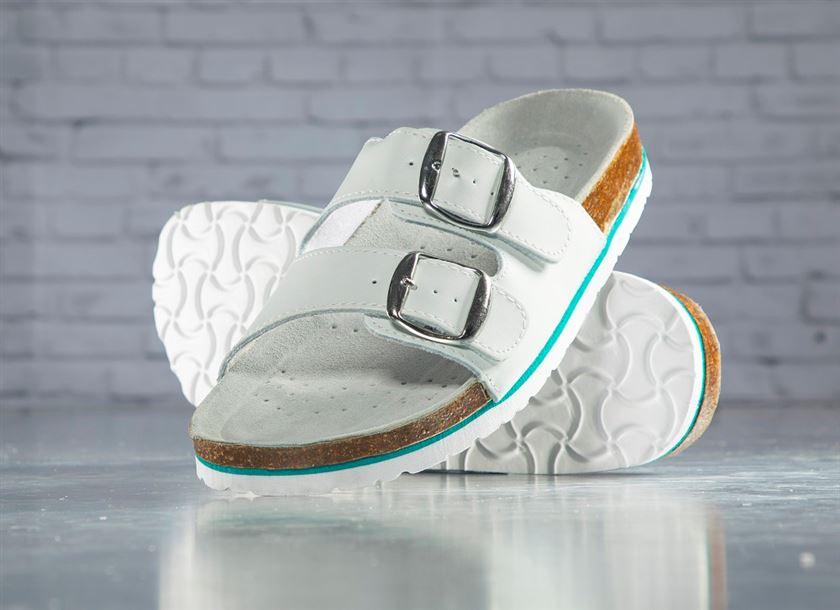 1fdc497e9a0f2 Pracovná zdravotná obuv šľapky Mars biele | PRACOVNÉ ODEVY KADO ...