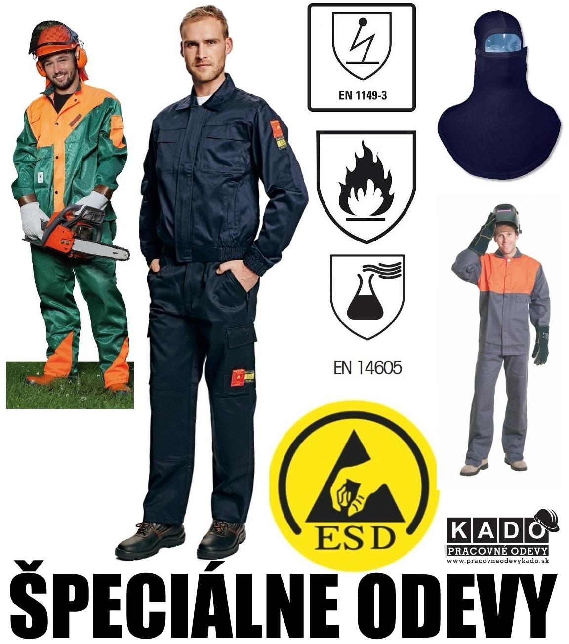 2639250a92f4 ... Špeciálny pracovné odevy - pilčícke odevy